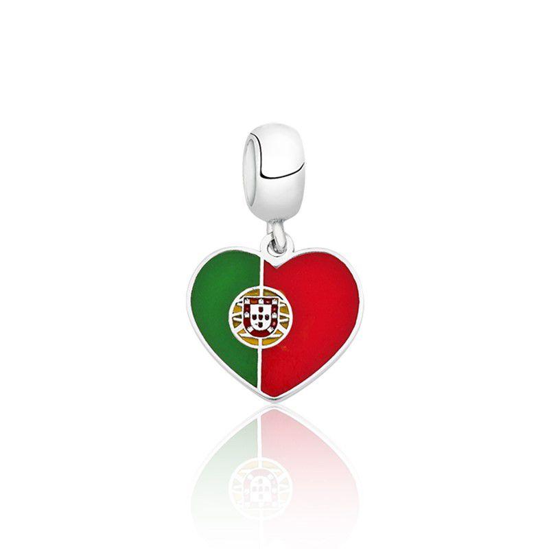 Berloque Coração Portugal