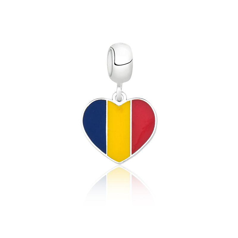 Berloque Coração Romênia