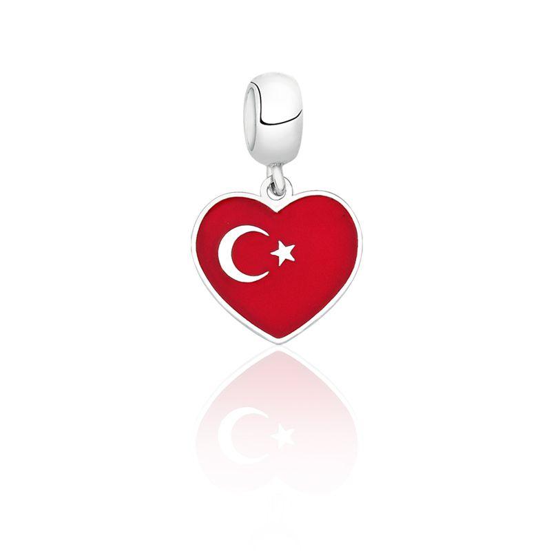 Berloque Coração Turquia