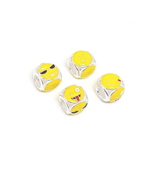 Berloque Emoji 4 em 1 - modelo II