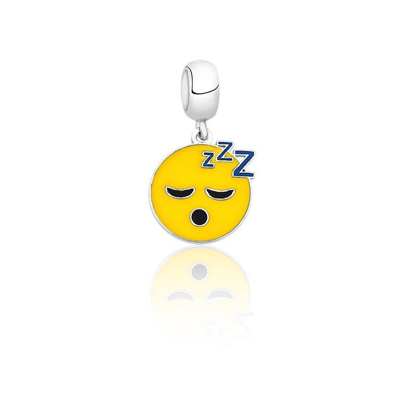Berloque Emoji Dormindo