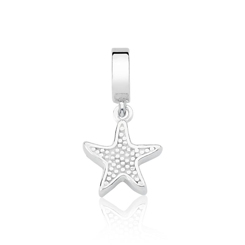 Berloque Estrela do Mar Zircônias