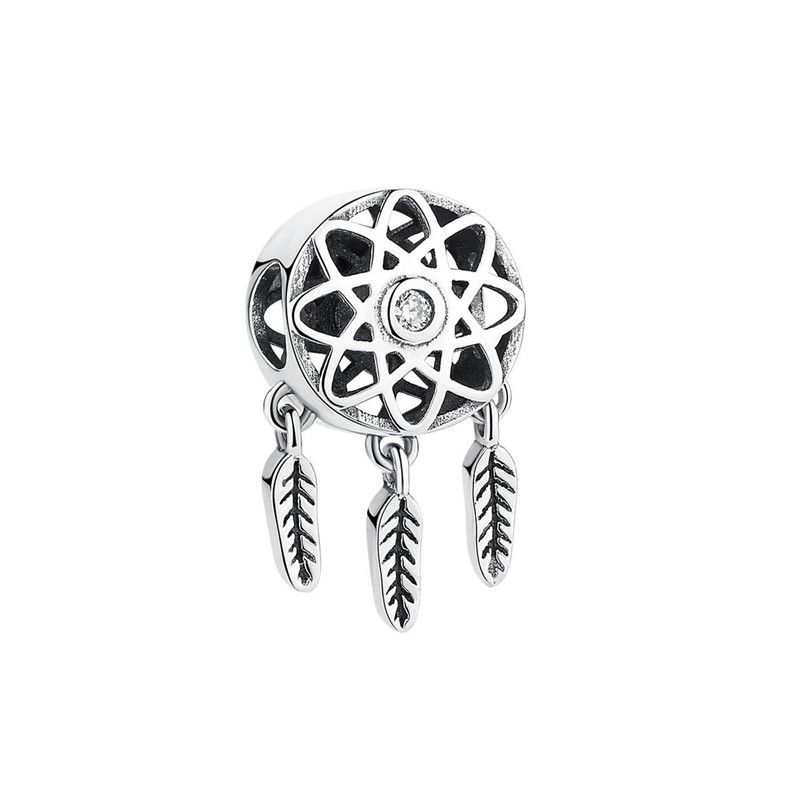 Berloque Filtro dos Sonhos Elegância Zircônia Cristal - Prata Italiana