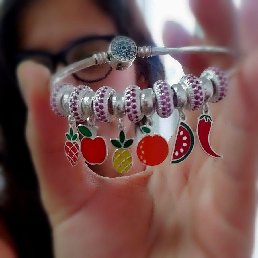 Berloque Fruta Laranja