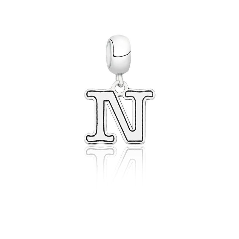 """Berloque Letra """"N"""""""