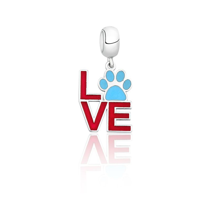 Berloque Love PET Azul