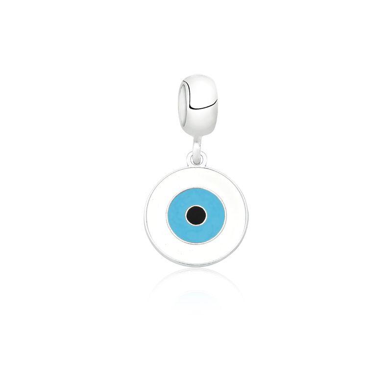 Berloque Olho Grego Fundo Branco II