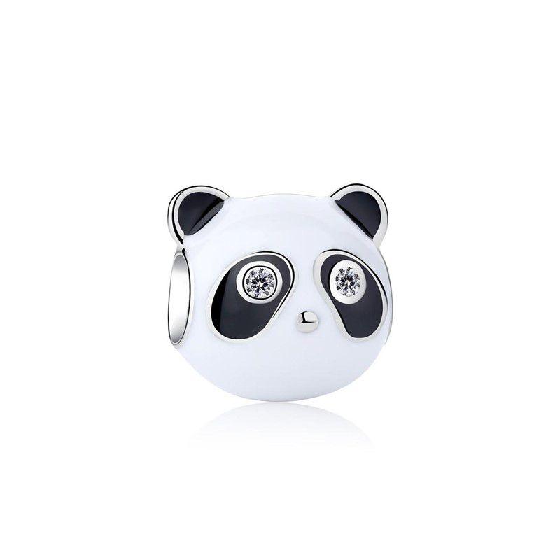 Berloque Panda - Prata Italiana