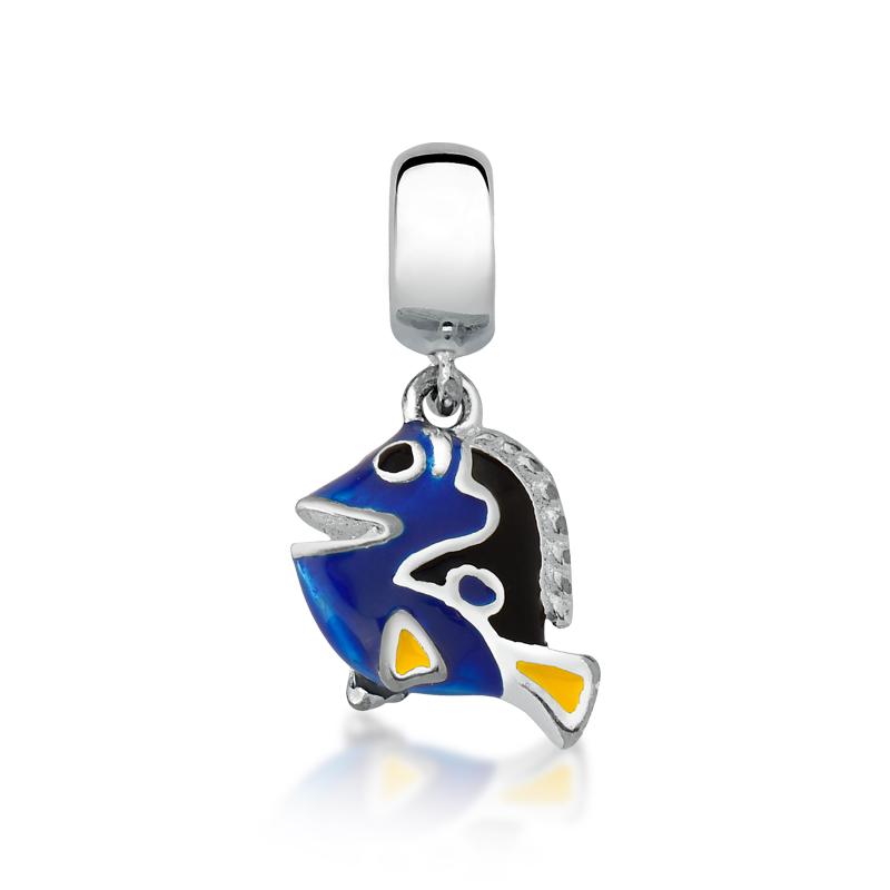 Berloque Peixe Azul