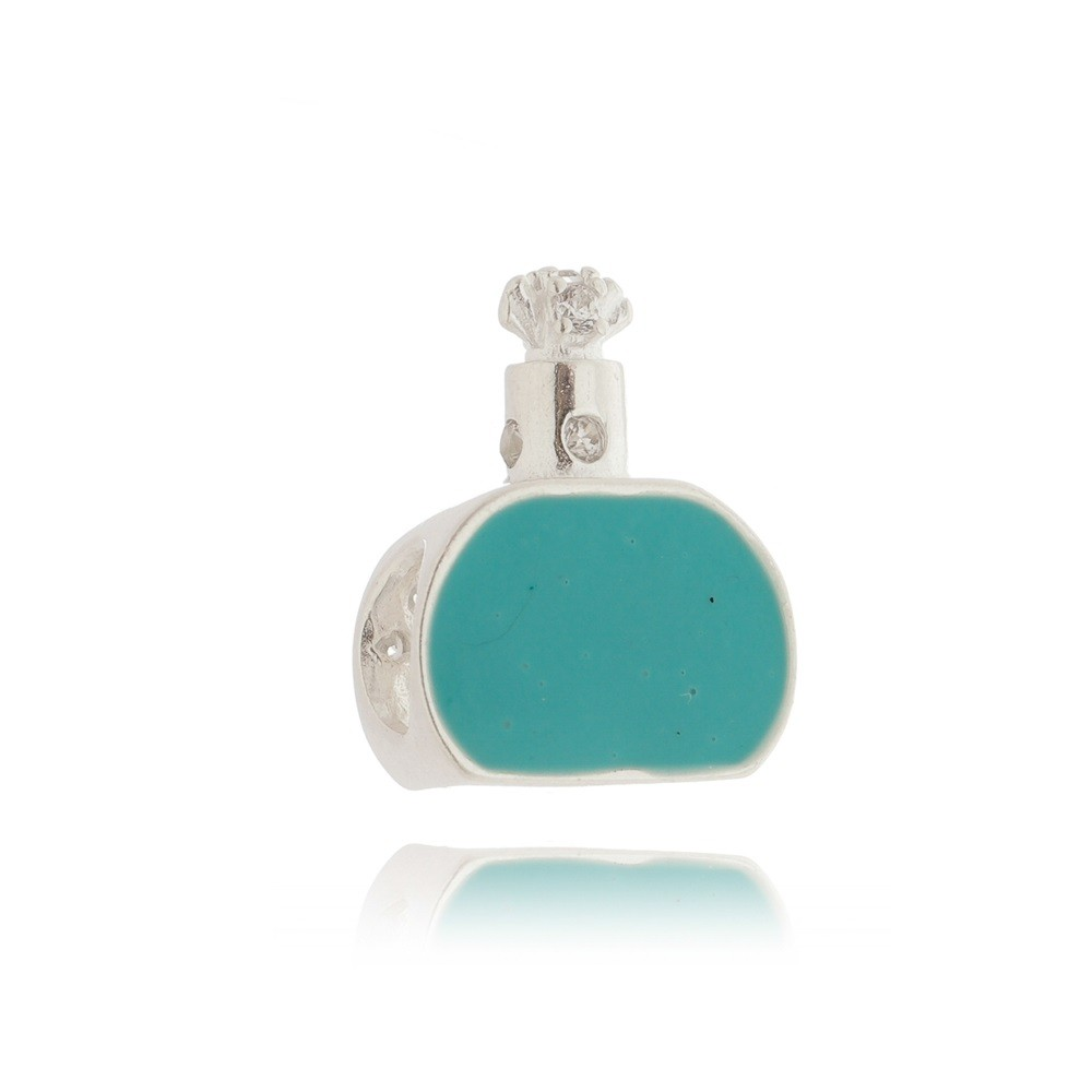 Berloque Perfume Pavê Azul
