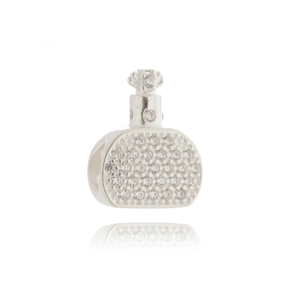 Berloque Perfume Pavê Verde