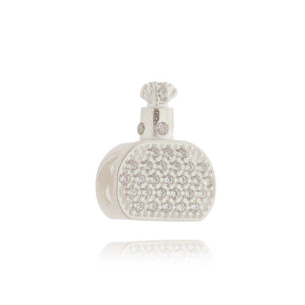 Berloque Perfume Pavê Rosa