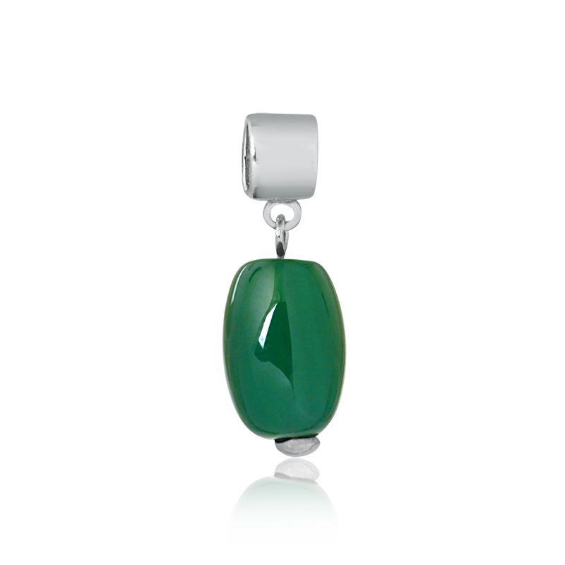 Berloque Pingente Jade