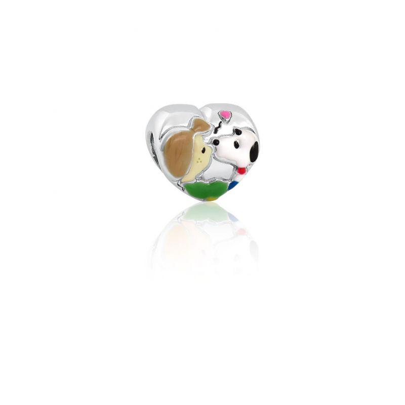 Berloque Snoopy Apaixonado