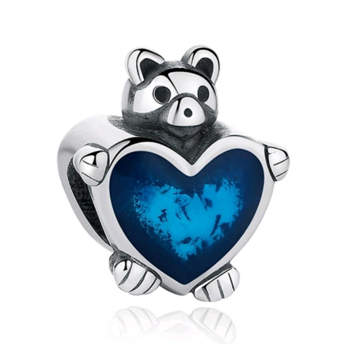 Berloque Ursinho Coração