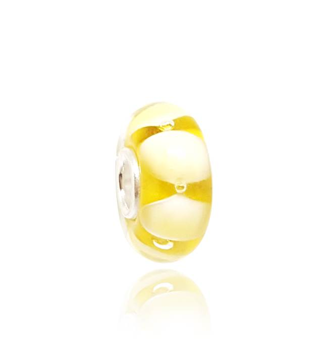 Murano Amarelo Bolhas - LHM0015