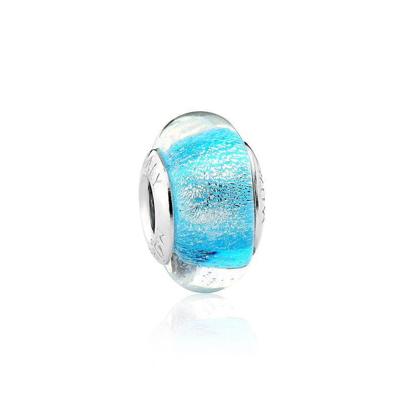 Murano Azul Glitter