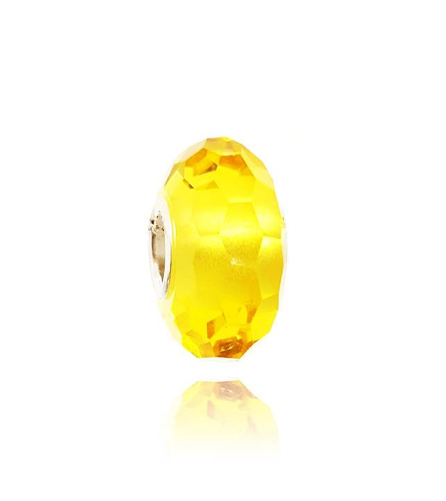 Murano Facetado Amarelo - LHM0007