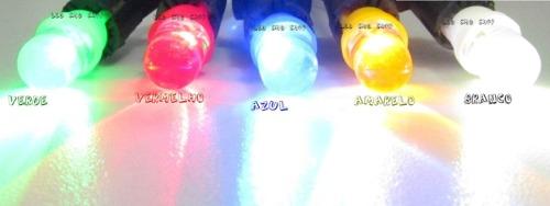 Kit 50 Lâmpadas Pingo T10 1 LED