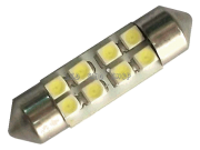 Led Torpedo 36mm 8 Smd Luz Cortesia Placa Teto Xenon Kit c/10 Atacado