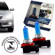 Par Lâmpada Super Branca H8 35w 12v Efeito Xenon Premium Inmetro