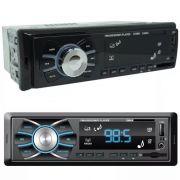Rádio Mp3 Player Som Carro Automotivo D-max D-6080 Fm Sd Usb
