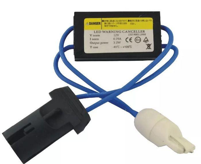 20 pares Canceller T10 Led Pingo Jetta Punto Resistor CanBus
