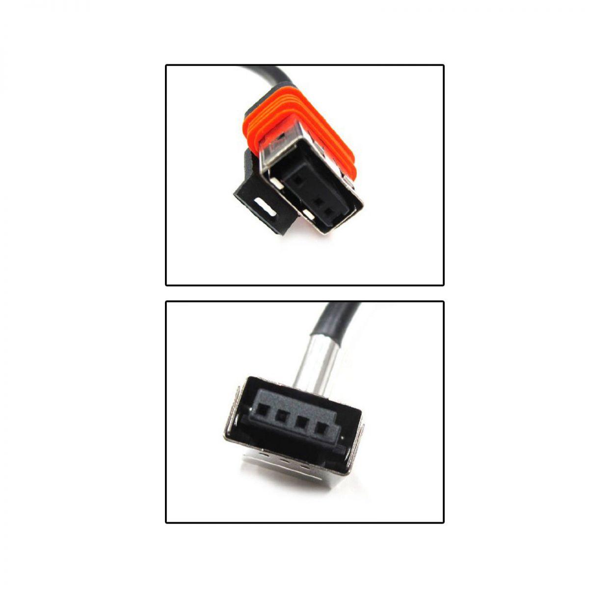 Chicote Conector Xenon Lâmpada D1s D1r 35w Cabo
