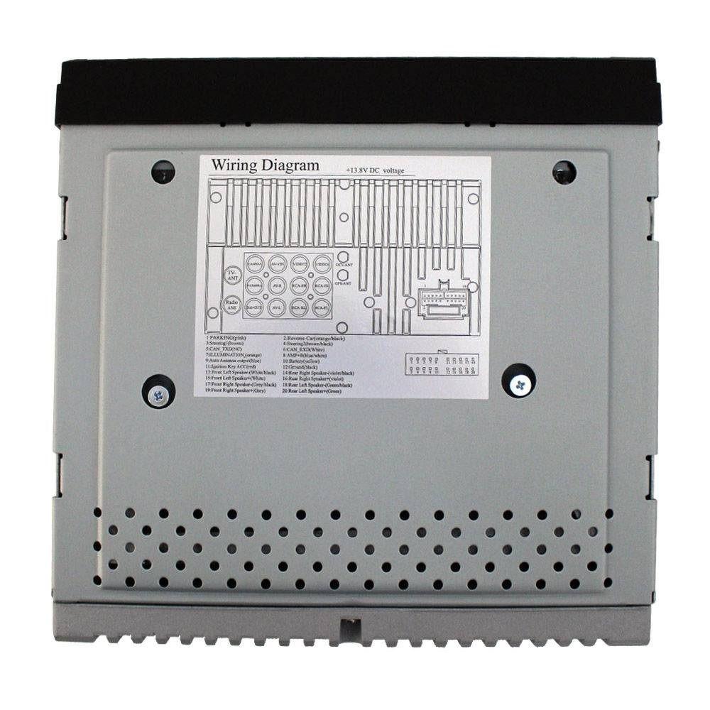 DVD Player Multimídia Automotivo Rayx C/ Bluetooth