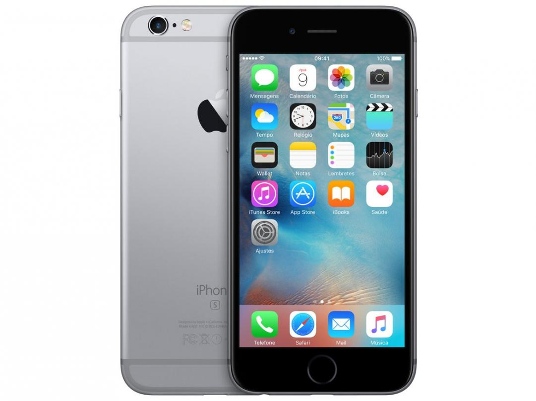 iPhone 6s Apple 16GB Cinza Espacial