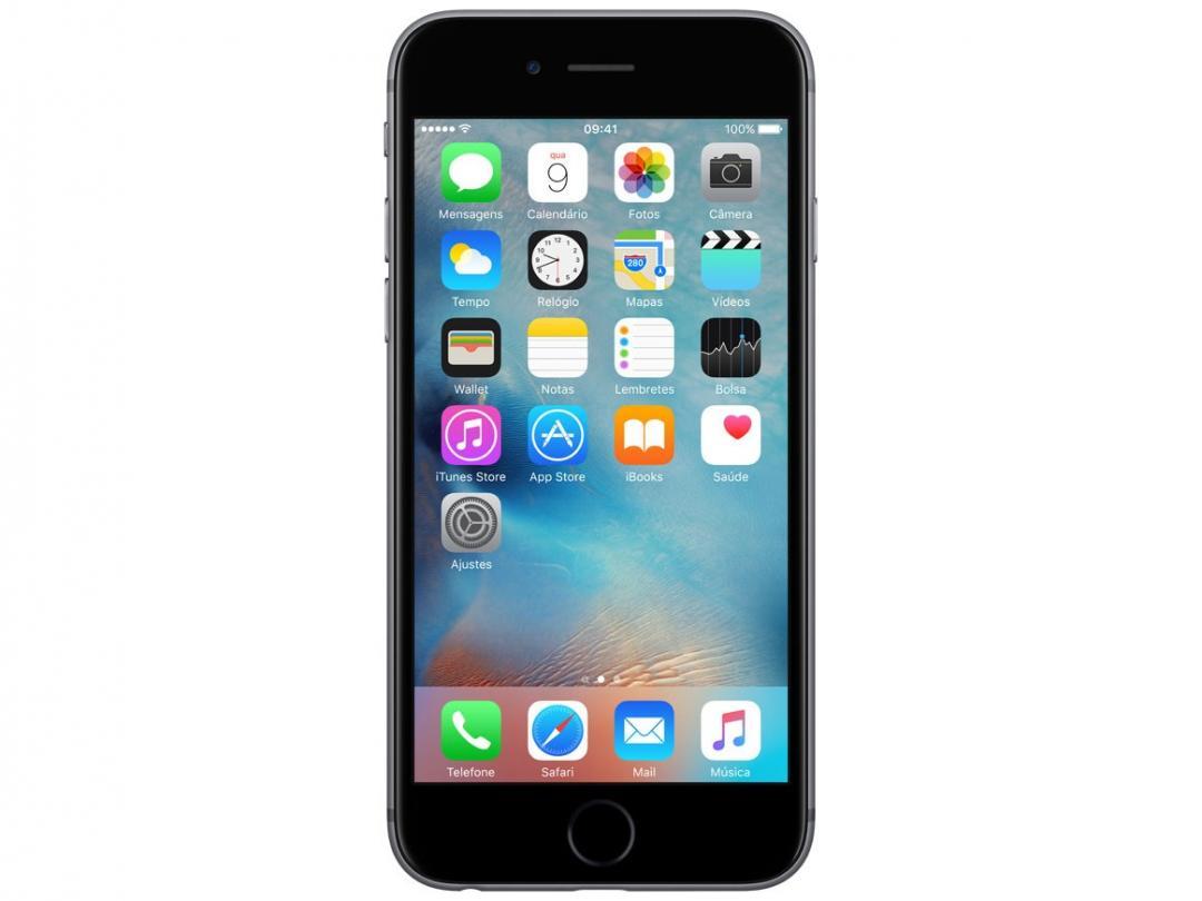 iPhone 6s Apple 16GB Cinza Espacial