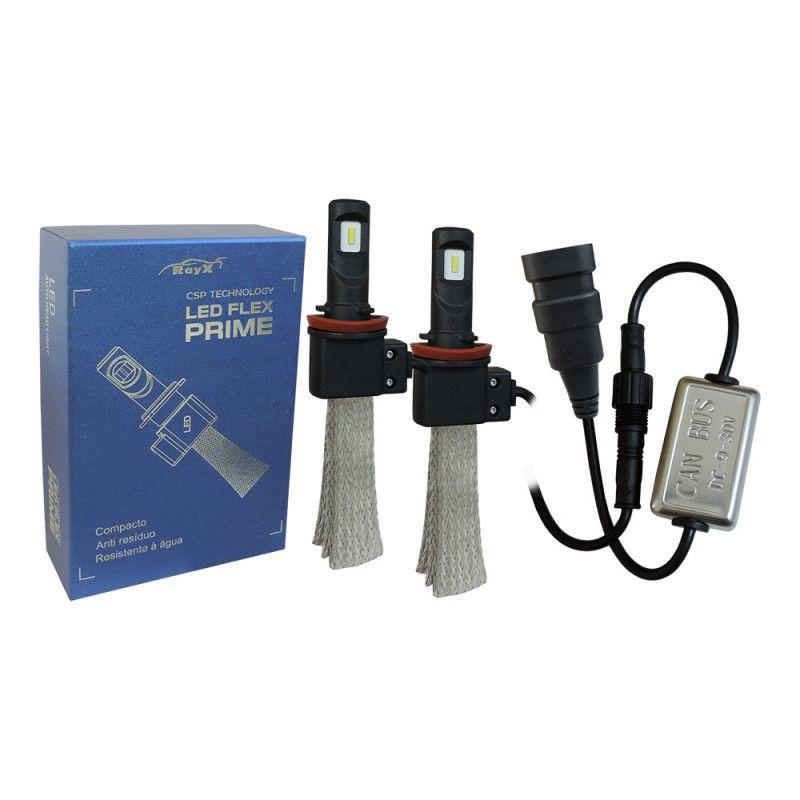 Kit Led Flex Prime CSP 3200 Lúmens H1 H3 H7 H8 H9 H11 H16 H27 HB3 HB4