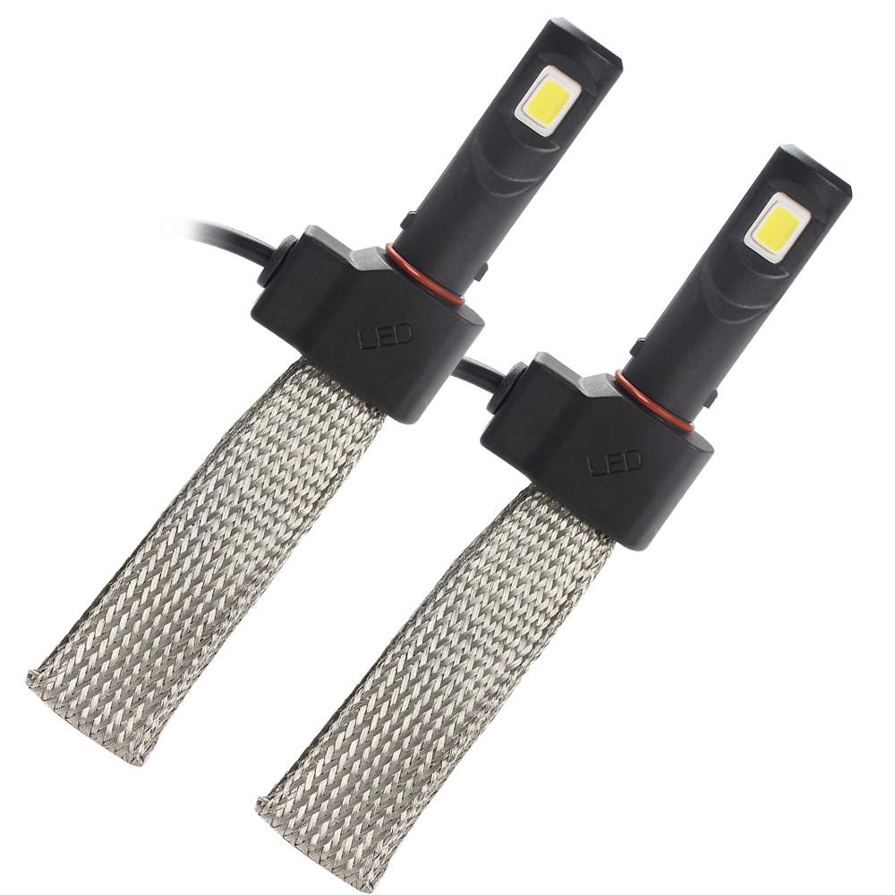 Kit Par Lâmpada Led Farol 7S 3200 Lúmens H16 Psx 24w
