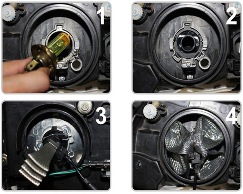 Kit Par Lâmpada Led Farol 7S 3200 Lúmens HB3 9005