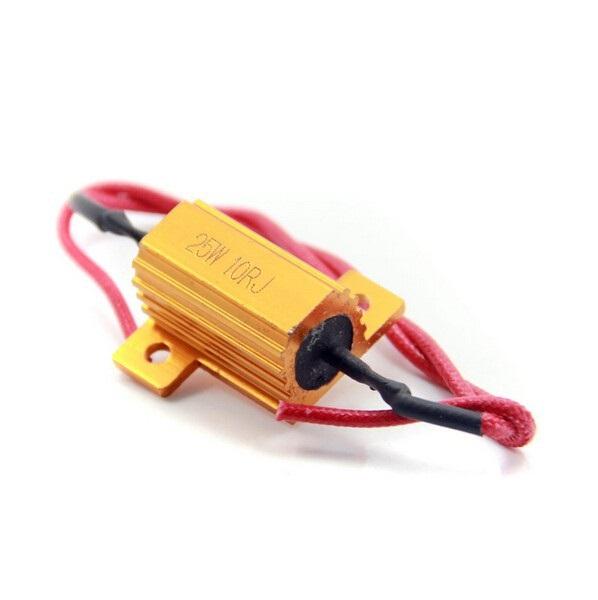 Kit Piscas Seta Moto Vazado Universal 12 Leds - Resistor