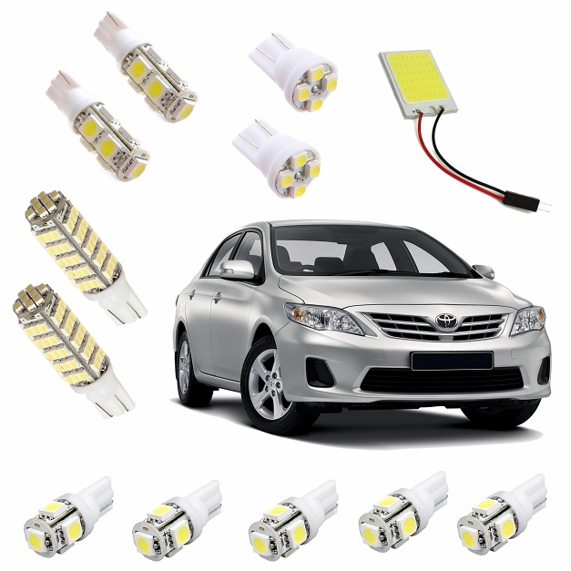 Kit Super Led Corolla 2009 até 2014