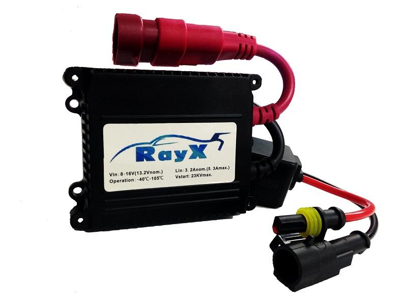 Kit Xenon 12v 35w H27 6000K Rayx