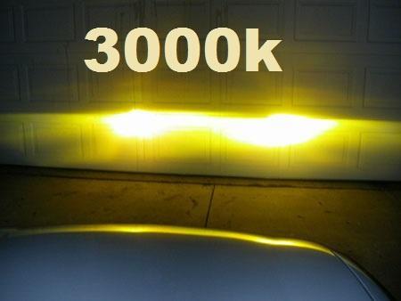 Kit Xenon 3000k Gold