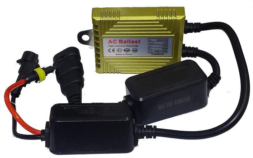 Kit Xenon Canbus Reator C15 Premium Canceller H3 6000K