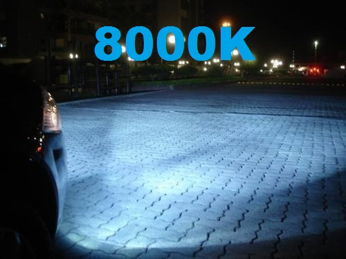 Kit Xenon Moto H11 8000k