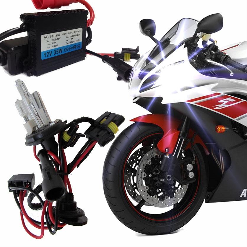 Kit Xenon Moto H4-2 6000k