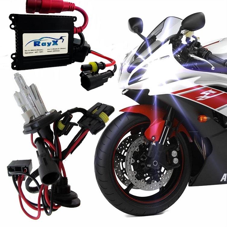 Kit Xenon Moto H4-2 6000k Rayx
