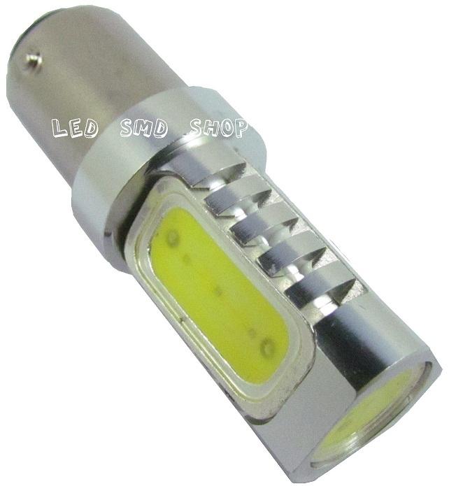 Lampada 1157 6w Led Dois Pólos Lanterna Freio Luz