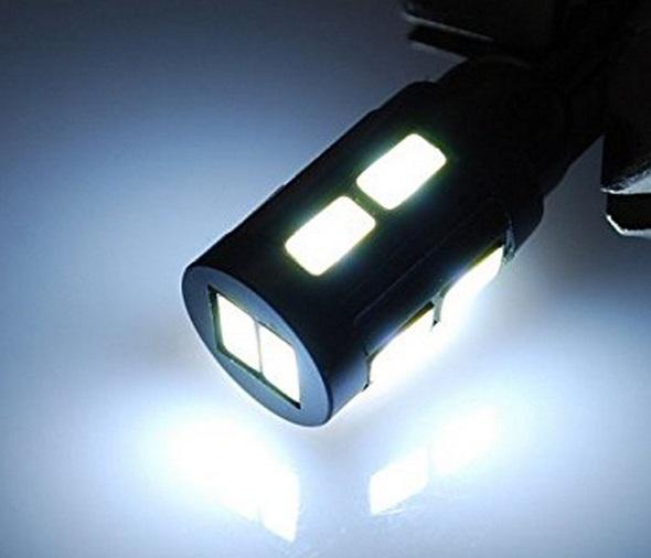 Lâmpada LED T10 5630 10 SMD w5w Branco