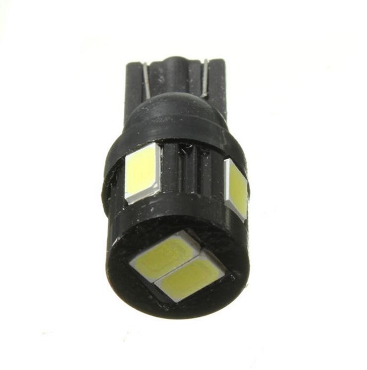 Lâmpada LED T10 5630 6 SMD w5w Branco