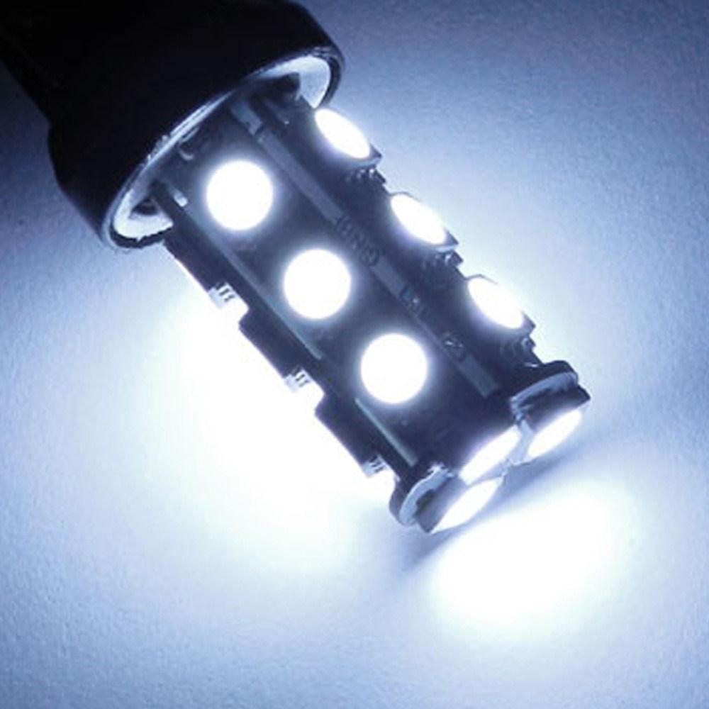 Lampada Ré 18 Led Smd Luz Tuning 1156 P21w Efeito Xenon