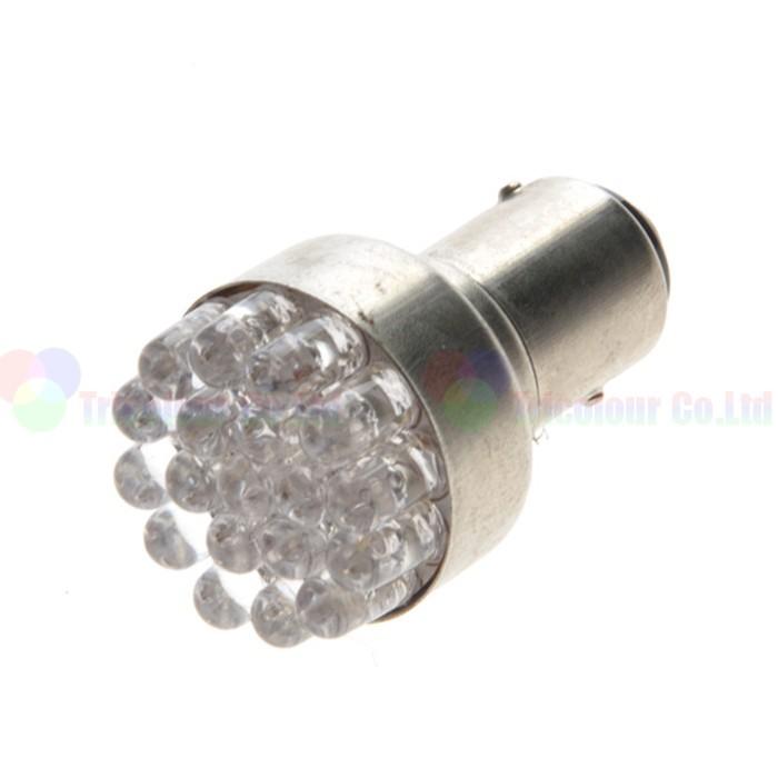 Lâmpada Ré 19 Leds Luz Tuning 1156 P21w Efeito Xenon