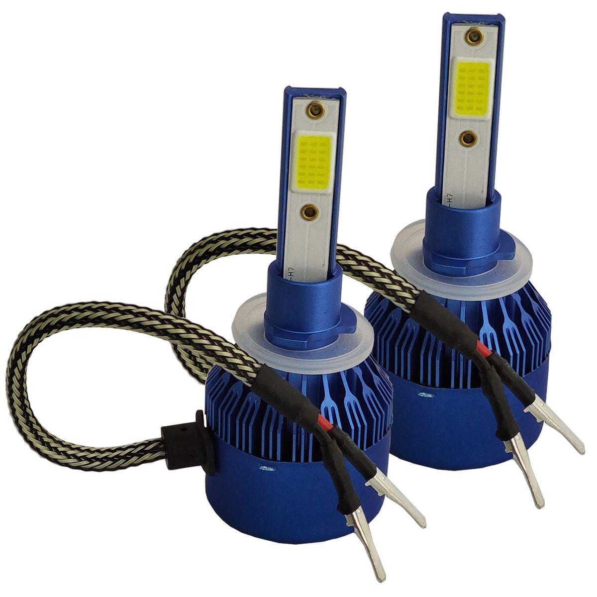 Lâmpada Super LED Light Cooler 6000k 6400 Lúmens H27