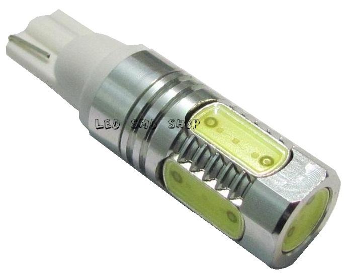 Lâmpada T10 7,5 Watts Pingo W5w Esmagadinha Tuning Xenon