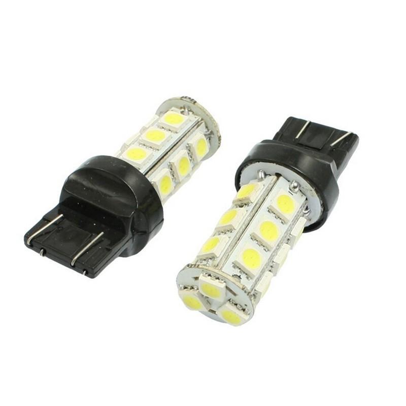 Lampada T20 3157 18 Leds Dois Polos